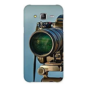 Delighted Huge Camera Multicolor Back Case Cover for Samsung Galaxy J5