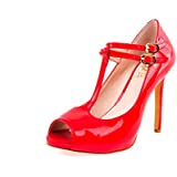 Vince Camuto Women's Carlii Red Patent Pump