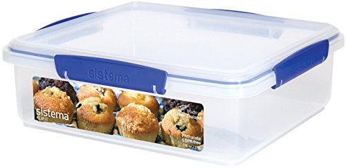 Sistema Klip It Collection Bakery Box Food Storage Container, 14.75 Cup (Bakery Food compare prices)