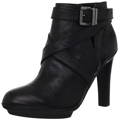 Kenneth Cole REACTION Women's Love Page Ankle Boot,Black,5 M US