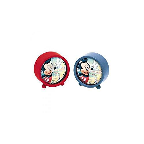 Mickey Mouse - Reloj despertador, 9 cm (Arditex WD8564)