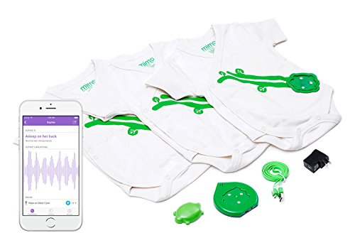 Mimo Smart Baby Breathing & Activity Monitor, 3-6 months - 1