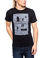 Cerruti Camiseta Manga Corta CMM8022250 C0842 (Negro)