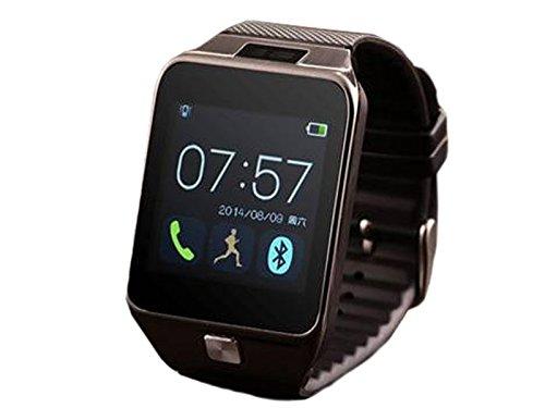 Homego New Fashion V8 Smartwatch Bluetooth 4.0 Sync Pedometer Sleep Monitor Remote Camera for Smartphone,Black