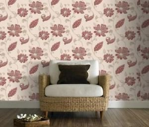 Premier Delicate Floral Juliet Wallpaper - Featur from New A-Brend