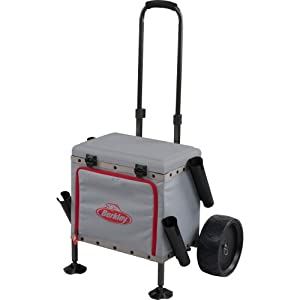 Berkley sportsman 39 s pro fishing cart for Professional fishing gear