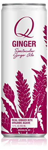 Q Drinks, Q Ginger Ale, Spectacular Ginger Ale, 12 Ounce Slim Can (Pack of 12) (Subscribe And Save Club Soda compare prices)