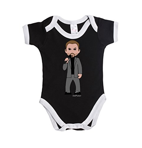 Vipwees Careless Whispering Man Baby Grow Vest Retro Clothes Music Gift