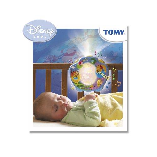 TOMY 2015 – Disney baby Meine Winnie Puuh Traumshow, Nachtlicht mit vielen Funktionen