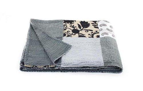 Signes Grimalt - Colcha Para Cama 150x220 cm Blanco y Negro 54686SG