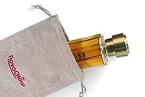 BROSS INTENSE, Eau De Parfum Spray for Men, Seductive, 3.4 Fluid Ounce, Perfect Gift With Luxurious Suede NovoGlow Pouch