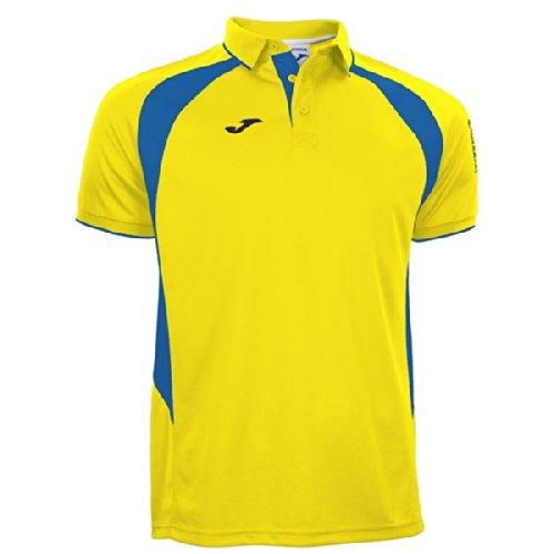 Joma Polo Champion III Yellow/Royal M/C, Taglia: L