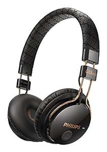 Philips Citiscape SHB8000BK/00 Foldie Casque Audio pliable Bluetooth avec Fonction prise d'appel pour Téléphone portable