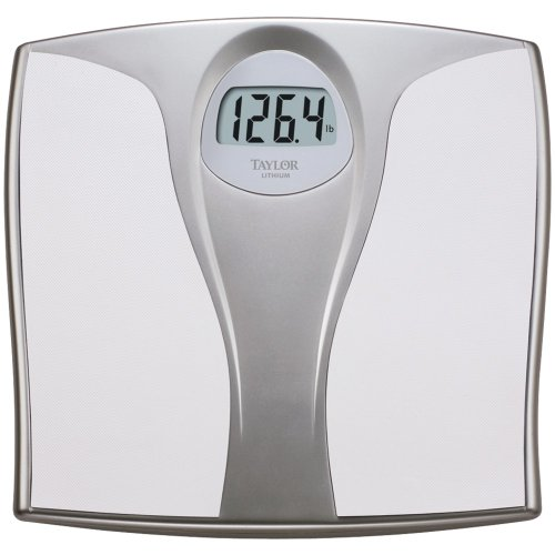 Image of TAYLOR PRECISION 733540132 LITHIUM ELECTRONIC DIGITAL SCALE (WHITE) (B00A9X2PPQ)