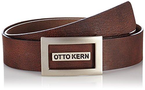 OTTO KERN - Herren Grtel 14000 / 23203, Cintura da uomo, marrone (braun  (dunkelbraun 700)), 95 cm (taglia produttore: 95)