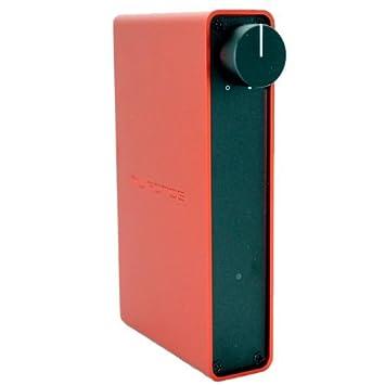 NuForce Icon AMP R Amplificateur 2 x 24 W 1 entrée analogique Rouge