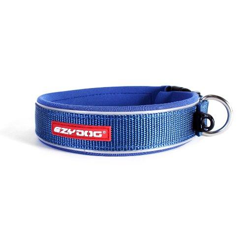 EzyDog Neo collare di cane, Large (46-51cm), Blu