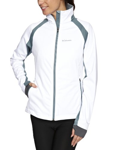 Columbia Damen Softshell-Jacke Tectonic, white, M, WL6697