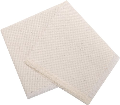 MCG Textiles Soft and EZ Breadcover, 18 by 18- Inch, Oatmeal