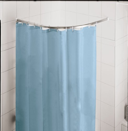 Round Pole for Shower 35x35in [90x90cm] - .98in / 25mm Diameter (Round Shower Curtains compare prices)