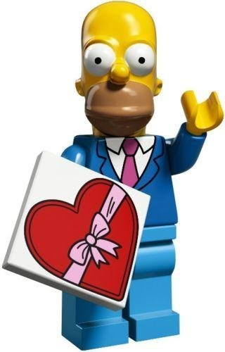 Lego Simpsons Series 2 Pick Your Figure 71009 (Homer (Sunday Best))