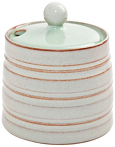 Denby Heritage Orchard Covered Sugar, Green