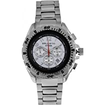 Ballistic BWE100 Mens Extreme Silver White Chronograph Watch