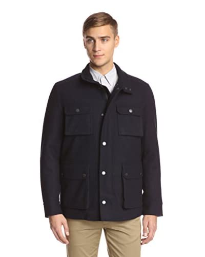 Ben Sherman Men's Short Coat With Patch Pockets