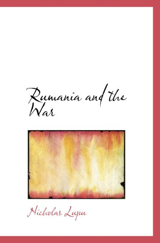 Rumania and the War