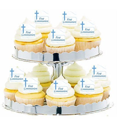 cakesupplyshop-item24280-24pk-first-communion-blue-cross-edible-cupcake-decoration-toppers-picks