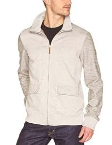Oxbow Olapa Sweat zippé homme Heather Grey FR : 42 (Taille Fabricant : XL)