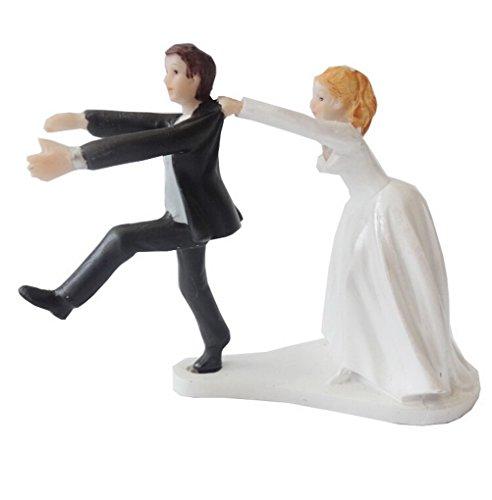 ACME-Figurine-Decoration-de-Mariage-Gateau-Topper-Wedding-Cake-Moderne-humoristique-Romantique-Faveur-de-mariage-et-de-la-dcoration