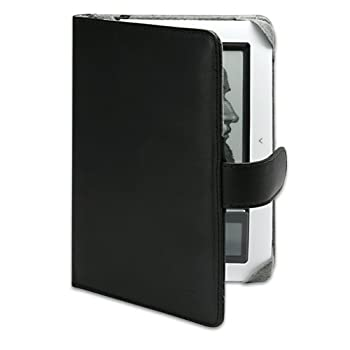 Set A Shopping Price Drop Alert For BoxWave Barnes and Noble nook 1st Edition Case - Nero Leather Elite Case for the 1st generation Nook - Professional, Stylish Genuine Leather Folio Book Cover