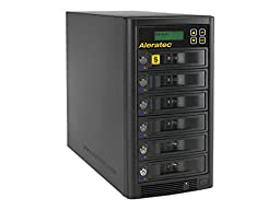Aleratec Direct V2 1:5 HDD Copy Cruiser High-Speed Hard Disk Drive Duplicator 350125 - Black