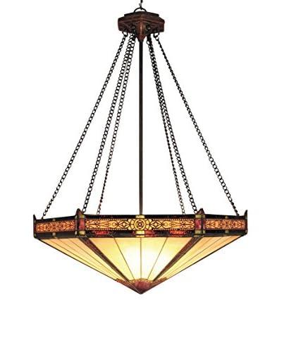 Artistic Lighting Filigree 3-Light Pendant, Aged Bronze
