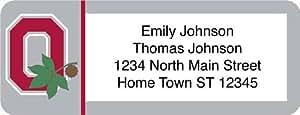 Ohio State University Return Address Label