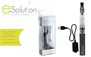 KIT cigarette électronique E-Solution 650mAh - SILVER