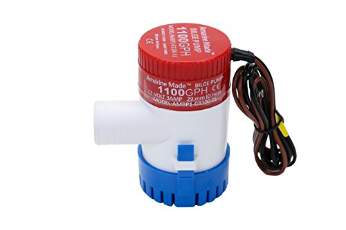 Amarine-made 1100gph 12v Boat Marine Plumbing Electric Bilge Pumps (1100gph 12v)