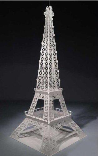 3D ペーパークラフト  エッフェル塔  約18.5×幅18.5×高さ48センチメートル