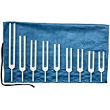 Solfeggio Tuning Forks - Set of 9 Forks