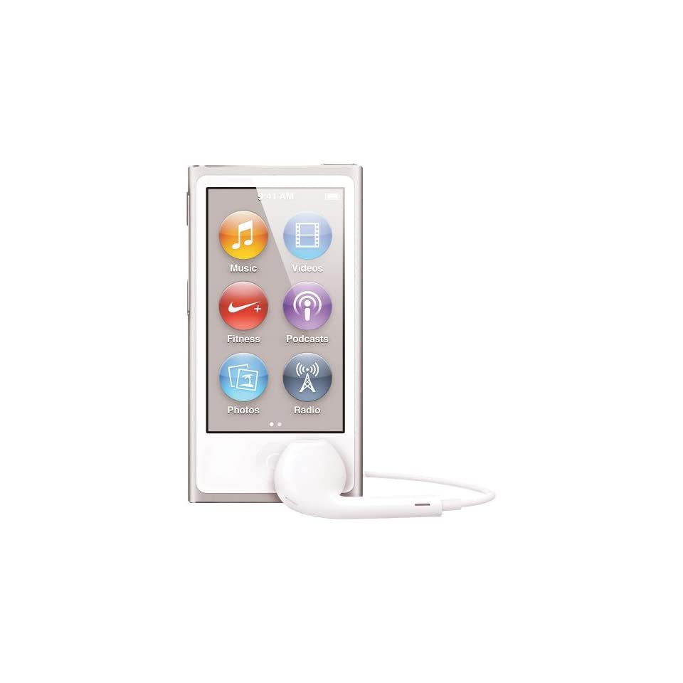 Apple iPod nano 16GB Silver (7th Generation) NEWEST MODEL