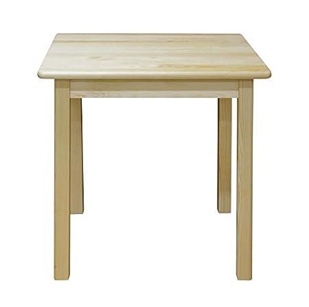 Tisch 60x60 cm, Farbe: Natur