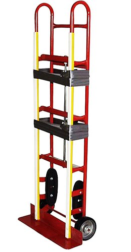 Milwaukee Hand Trucks 41185 Appliance Truck With Ratchet Belt Tightener And Mold-On Wheels front-99624