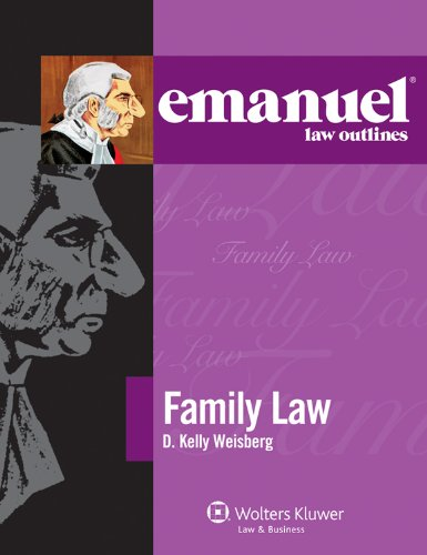 Emanuel Law Outlines: Family Law 2011
