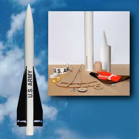 Madcow Rocketry K-116 U.S. Army MIM-23B Hawk Rocket Kit
