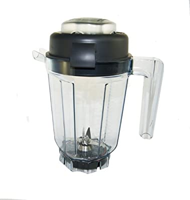 Vitamix 32 Oz. WET with Blade and Lid. BPA Free Eastman Tritan® Copolyester. New Technology (32 Oz. WET CONTAINER)