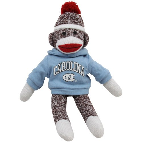 North Carolina Tar Heels (UNC) 11'' Team Sock Monkey at 'Sock Monkeys'
