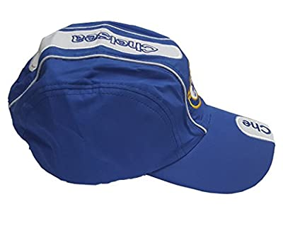 Chelsea Soccer Structured Adjustable Cap - blue