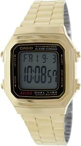 Casio Watch A178WGA1A (Size: men)