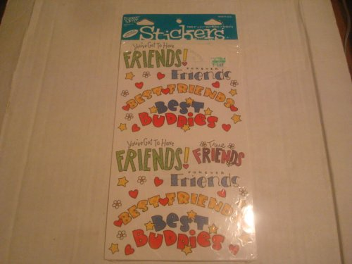 Friends Stickers for Scrapbooking